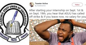 ASUU Calling Off Strike