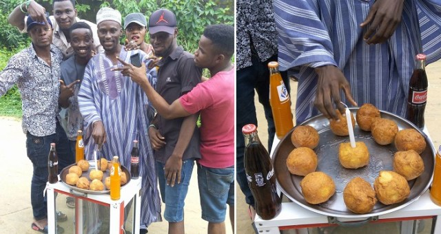 Hehe… See How This Nigerian Guy Celebrated His Birthday. (Photos)