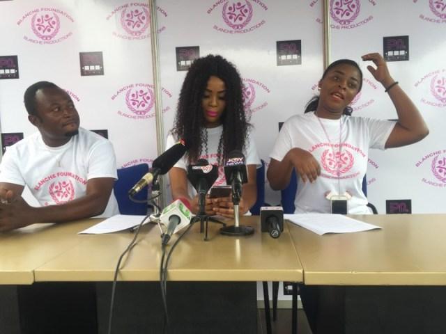 Ghanaian Actress embarks