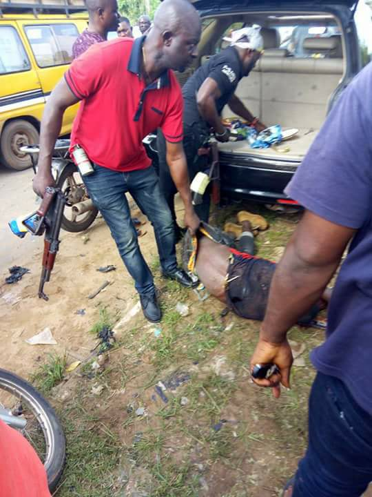 Police kill 2 kidnappers