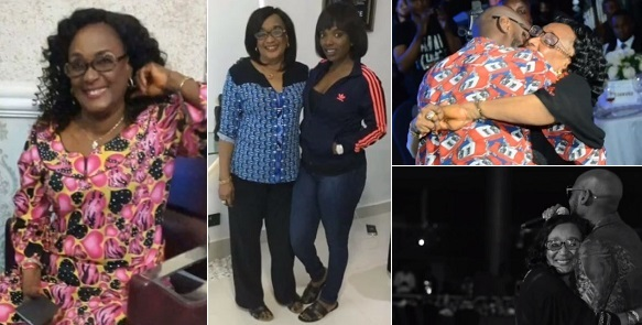2face celebrates mum's birthday