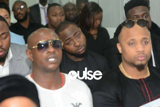 Davido Attends Funeral Ceremony