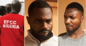 EFCC Arrests Two Yahoo Boys