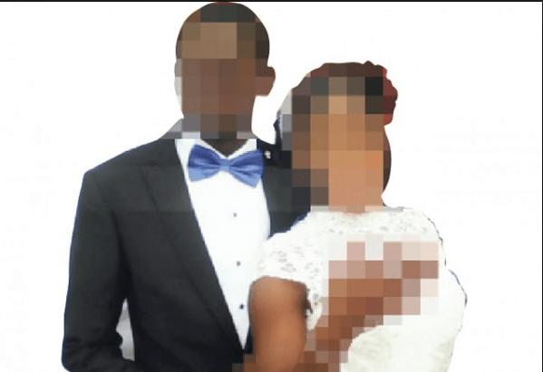 Woman dumps husband