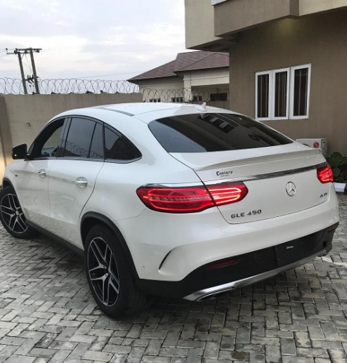 Pretty Mike acquires brand new Mercedes
