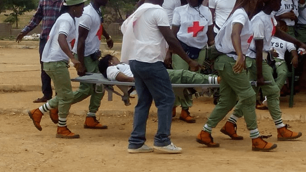 Female NYSC member raped
