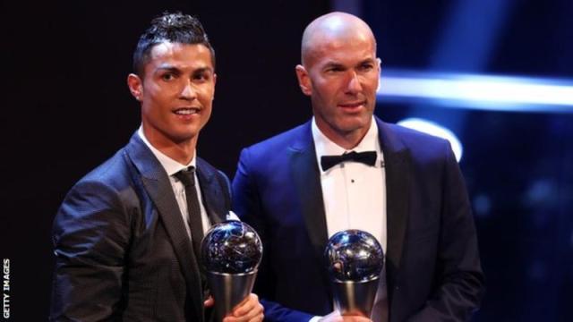 Ronaldo-02 Cristiano Ronaldo beats Messi, Neymar to win men's Fifa best player award Sermon