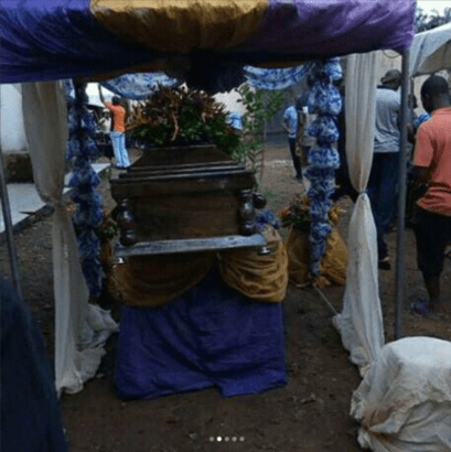 Tagbos Burial 01 - Photos from Tagbo's Burial Davido's Friend