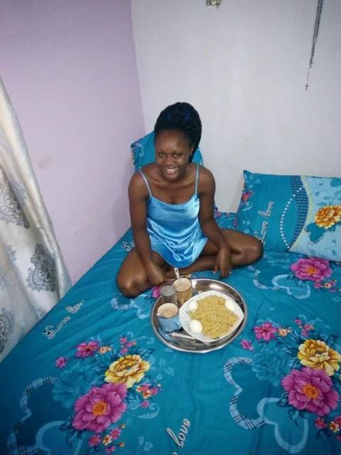 Nigerian man woke wife