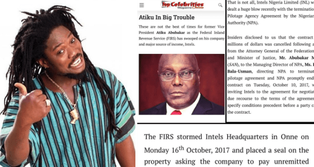 Daddy Showkey Blasts Imo Governor