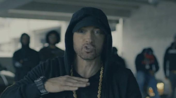 Rapper, Eminem sold more albums than any other artiste in the World in 2018