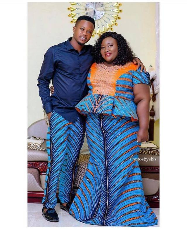 nigerian man's plus-sized fiancee