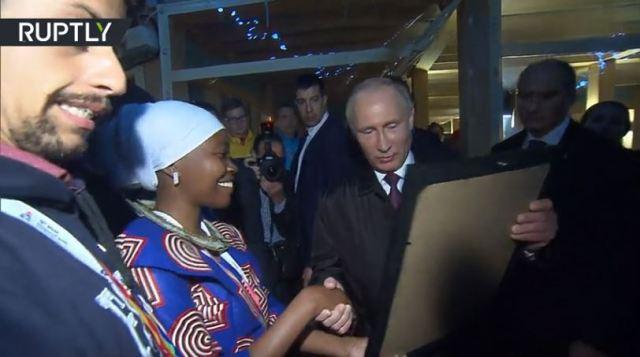 Vladimir Putin Tells Nigerian Student