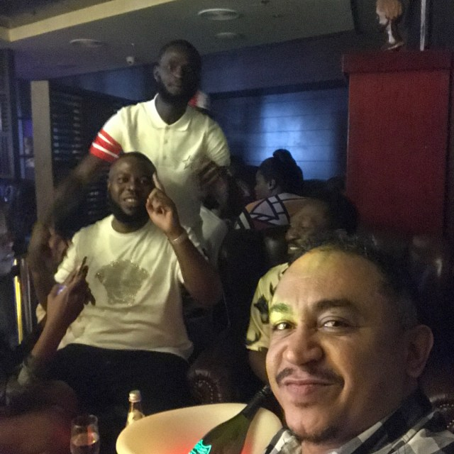 Hushpuppi hosts Daddy Freeze