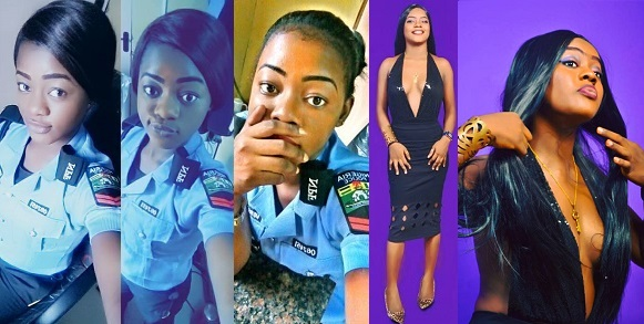 Beautiful Female Nigerian Police Officer Shares Stunning Pictures To Celebrate Her Birthday