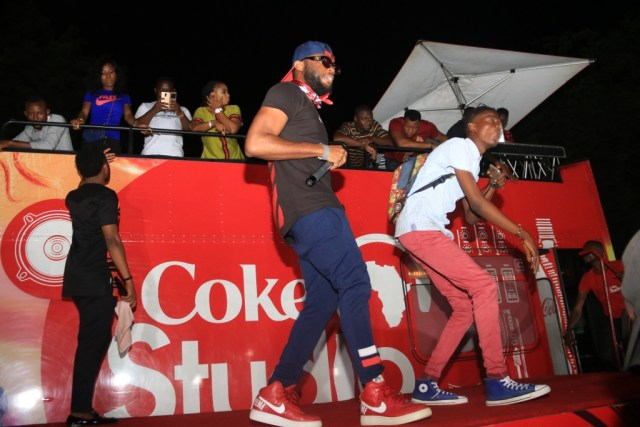 IMG 7928 - Yikes! Fans Startled as Falz and Dremo Storm Coke Studio Concert