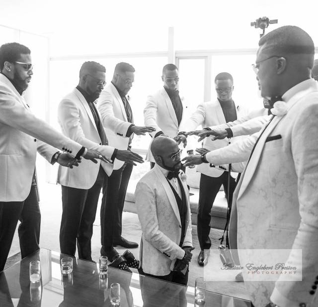 "New wedding 08 - Why Oritsefemi's wedding ""outshone"" Banky W's wedding"