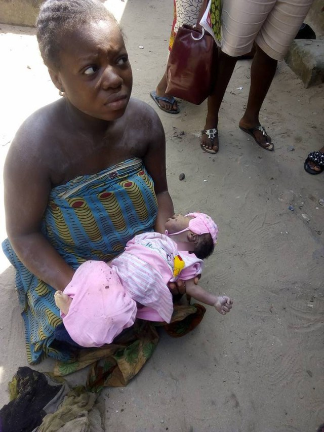 Physically challenged 03 - Physically challenged young lady kills her baby after delivery in Delta state (photos)