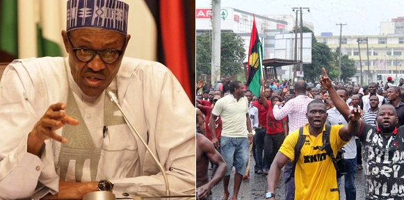 Image result for President Buhari IPOB