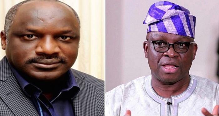 "Joining APC is like leaving Jesus Christ for Satan"" – Fayose Replies Aluko"