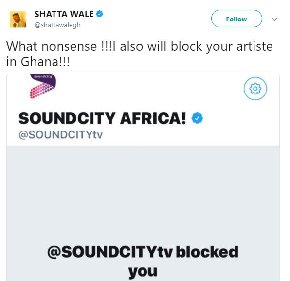 Shatta Wale blows hot