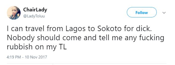 Pretty Nigerian Lady reveals