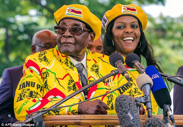 Arrested Mugabe insists