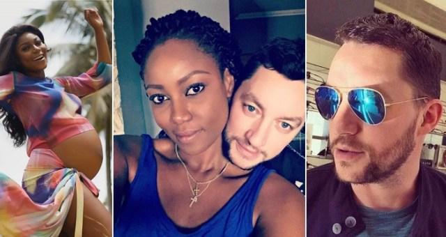 Yvonne Nelson's Baby Daddy Arrives Ghana