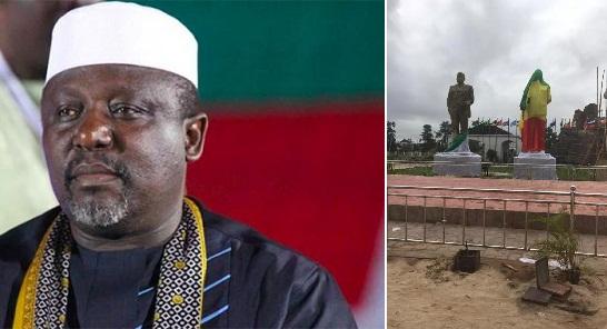 Governor Okorocha to unveil Obasanjo, Ekwueme, Awolowo's statues soon.