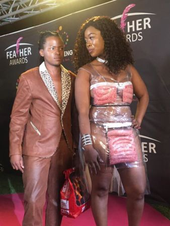 South African Singer Rocks Sausages