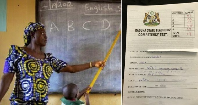 Primary 4 Exam Scripts 21000 Teachers Failed