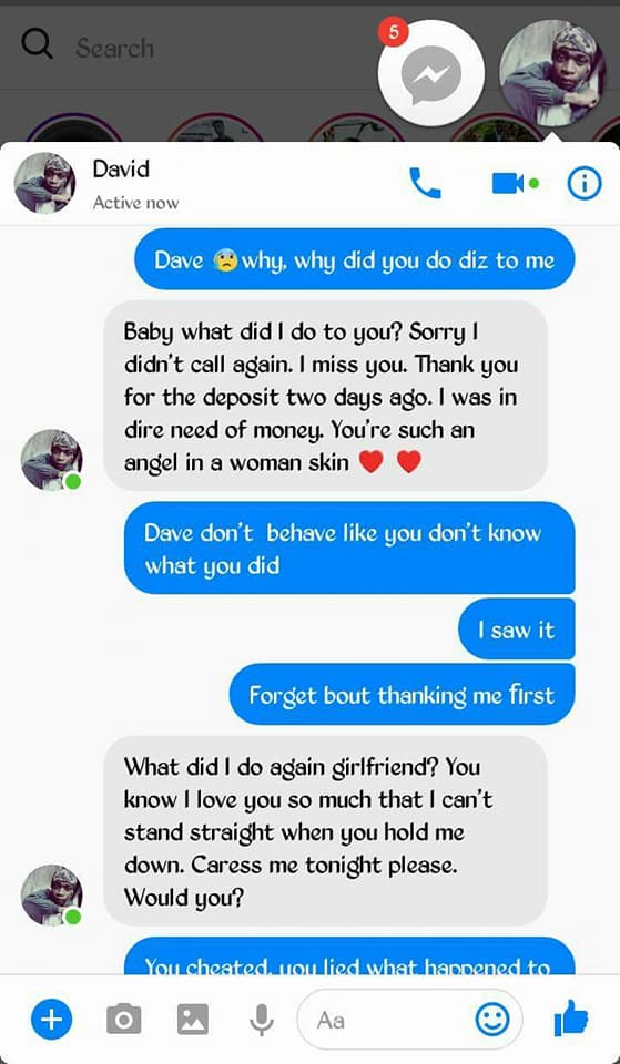 1 3 - Lady calls out boyfriend she gives money, for cheating on her with her bestfriend