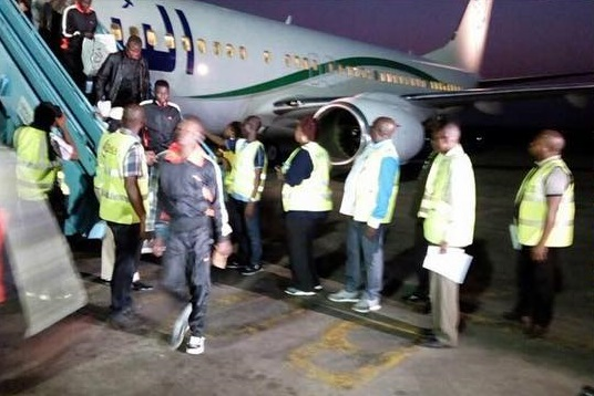 144 Nigerians return