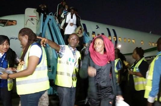 24838311 385684371888344 1422343536069574656 n 3 - 144 Nigerians return from Libya