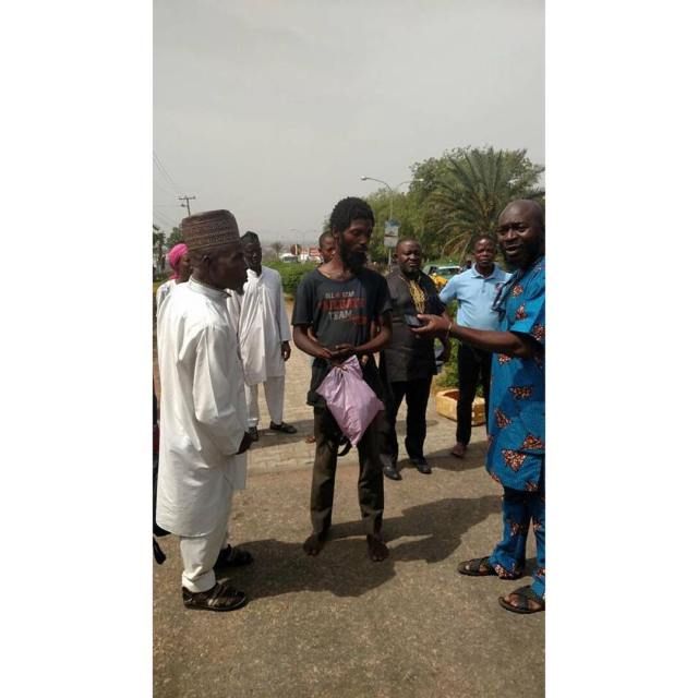 25022339 1972315979758540 1143979245257621504 n - Madman caught with N100 million cheque, ATM cards, phone, condoms in Ilorin