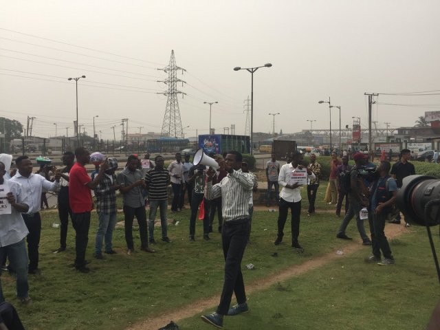 DQwirplVQAU61gI - See Photos From The #EndSARS Nationwide Protest