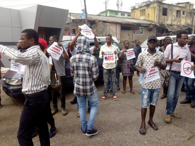 DQwkAK4UMAAiRSU - See Photos From The #EndSARS Nationwide Protest
