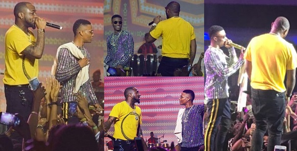 "Davido Declares Wizkid His ""New Best Friend"" At His #30BillionConcert."
