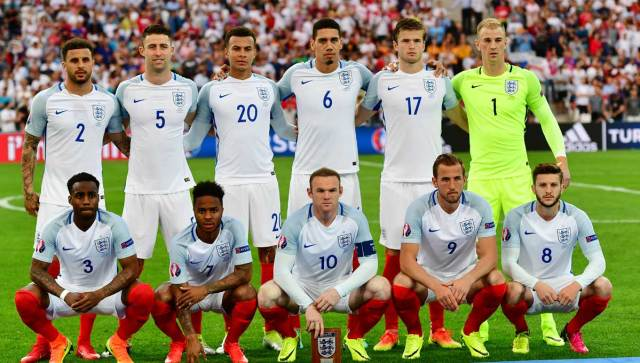 England football team Euro 2016 1 - Super Eagles set to play a friendly match with England ahead of 2018 world cup.