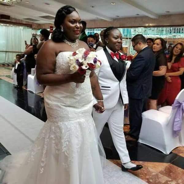 Ghanaian Lesbians wed