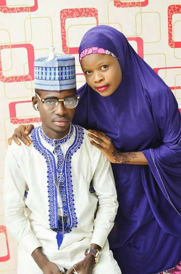 Hausa young couple3 - Viral Photos Of A Young Hausa Couple.