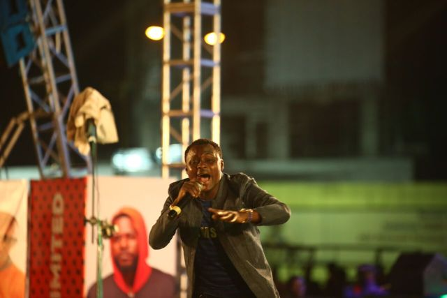 IMG 5652 preview - Davido, Runtown, Mr. P, Niniola, Oritsefemi, 9ice, Olu Maintain, Falz & more Shutdown Barbeach at the Merrybet Celebrity Fans Challenge Event