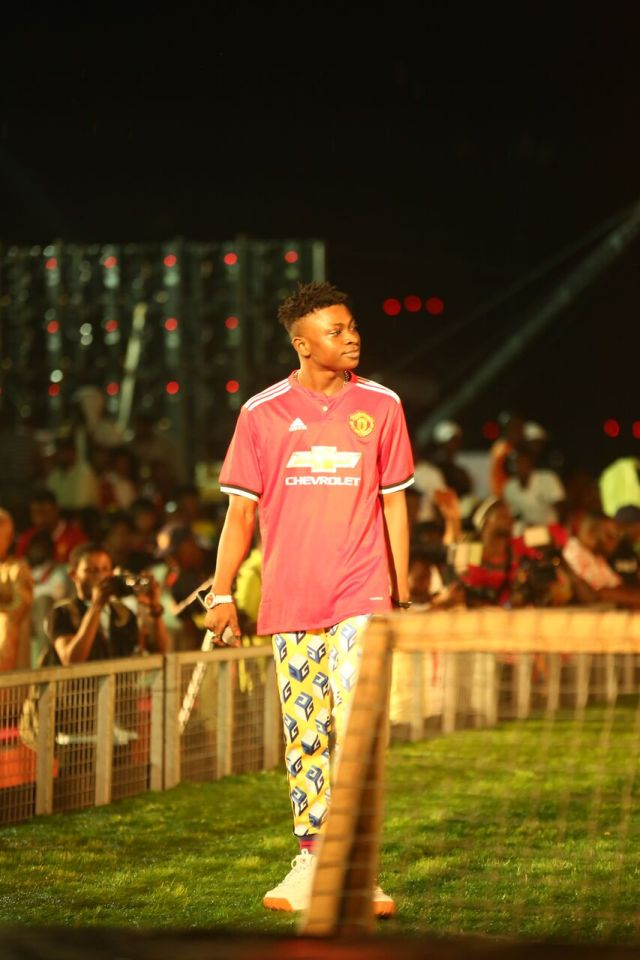 IMG 5831 preview - Davido, Runtown, Mr. P, Niniola, Oritsefemi, 9ice, Olu Maintain, Falz & more Shutdown Barbeach at the Merrybet Celebrity Fans Challenge Event