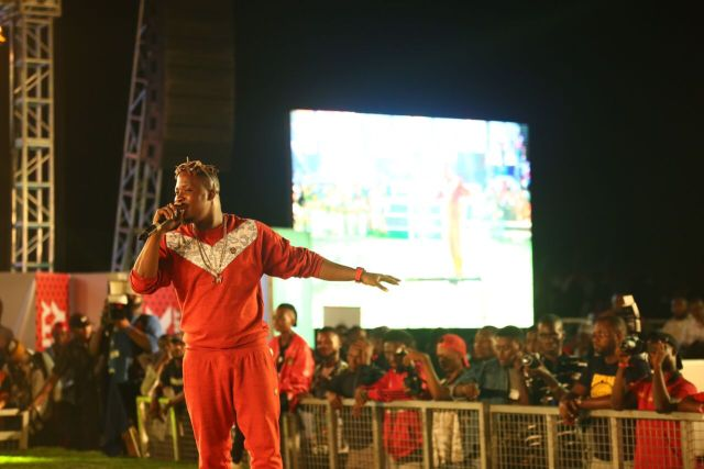 IMG 6284 preview - Davido, Runtown, Mr. P, Niniola, Oritsefemi, 9ice, Olu Maintain, Falz & more Shutdown Barbeach at the Merrybet Celebrity Fans Challenge Event