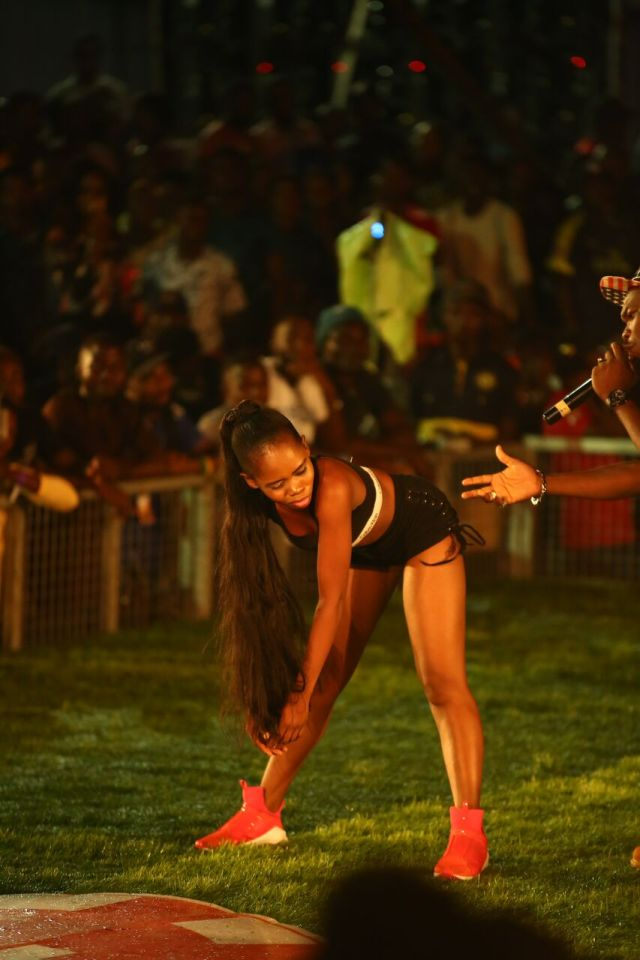 IMG 6337 preview - Davido, Runtown, Mr. P, Niniola, Oritsefemi, 9ice, Olu Maintain, Falz & more Shutdown Barbeach at the Merrybet Celebrity Fans Challenge Event