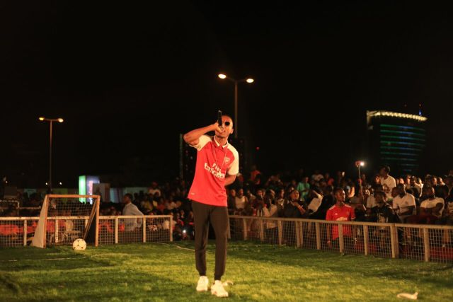 IMG 7519 preview - Davido, Runtown, Mr. P, Niniola, Oritsefemi, 9ice, Olu Maintain, Falz & more Shutdown Barbeach at the Merrybet Celebrity Fans Challenge Event