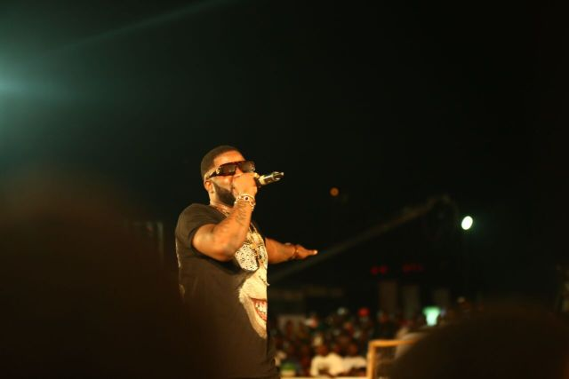 IMG 7562 preview - Davido, Runtown, Mr. P, Niniola, Oritsefemi, 9ice, Olu Maintain, Falz & more Shutdown Barbeach at the Merrybet Celebrity Fans Challenge Event
