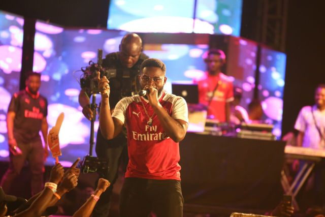 IMG 7622 preview - Davido, Runtown, Mr. P, Niniola, Oritsefemi, 9ice, Olu Maintain, Falz & more Shutdown Barbeach at the Merrybet Celebrity Fans Challenge Event