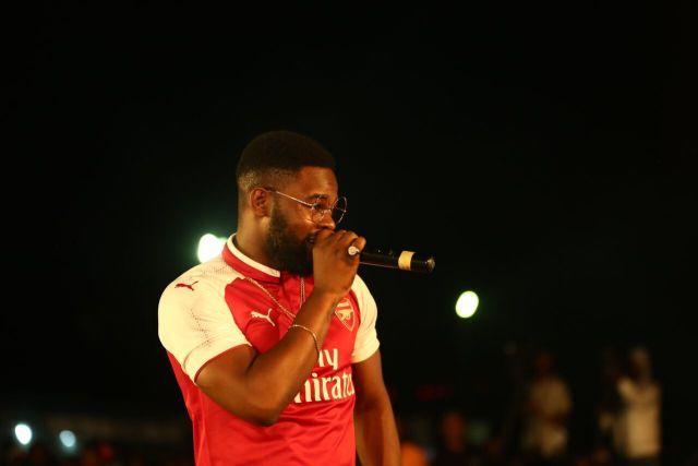 IMG 7632 preview - Davido, Runtown, Mr. P, Niniola, Oritsefemi, 9ice, Olu Maintain, Falz & more Shutdown Barbeach at the Merrybet Celebrity Fans Challenge Event
