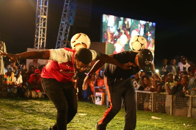 IMG 7639 preview - Davido, Runtown, Mr. P, Niniola, Oritsefemi, 9ice, Olu Maintain, Falz & more Shutdown Barbeach at the Merrybet Celebrity Fans Challenge Event